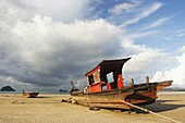 Boot, Ferien, Landschaft, Malaysia, Meer, See, Strand, Urlaub, X9J-957693, agefotostock