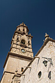 Cathedral of Morelia, view from the Plaza de Armas, Morelia, Michoacan, Mexico