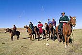 Riding the grassland, Chagang, Inner Mongolia, China