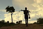 Hammere ethnic group, Turmi, Ethiopia