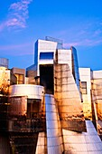 The Frederick R  Weisman Art Museum at the University of Minnesota at sunset  A stainless steel and brick building designed by architect Frank Gehry, the Weisman Art Museum offers an educational and friendly museum experience