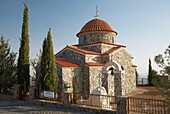 Church of the All Saints of Cyprus at the Stavrovouni monastery republic of cyprus europe