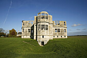 Lyveden New Bield in Northamptonshire, England  The New Bield is an unfinished summer house dating from approximately 1605 constructed for Sir Thomas Tresham and is now under the care of the National Trust