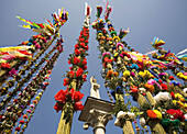 Easter Sunday, tallest Palms Contest in Lipnica Murowana, Poland