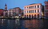 Italy, Venice, Grand Canal, palaces