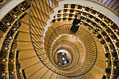 Extraordinary architecture in L'Intendant Wine Shop, Bordeaux, Gironde, Aquitane, France, Europe