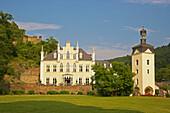 Schloss Sayn und Schlosspark, Sayn, Bendorf, Rheinland-Pfalz, Deutschland