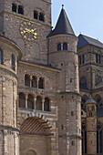 Dom St. Peter,  Detail, Domfreihof, Trier an der Mosel, Rheinland-Pfalz, Deutschland, Europa