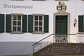 Beethovenhaus an der Mittelstraße, Bad Neuenahr, Bad Neuenahr-Ahrweiler, Ahr, Eifel, Rheinland-Pfalz, Deutschland, Europa