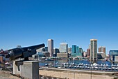 Panorama from Federal Hill, Baltimore, Maryland, USA