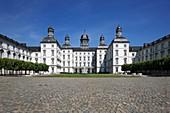 D-Bergisch Gladbach, Bergisches Land, North Rhine-Westphalia, D-Bergisch Gladbach-Bensberg, castle Bensberg, hunting lodge, hotel, baroque, castle gardens