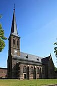 D-Frechen, Cologne Bay, Ville, nature reserve Rhineland, former nature reserve Kottenforst-Ville, North Rhine-Westphalia, D-Frechen-Koenigsdorf, Saint Sebastianus Church, catholic church