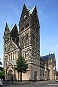 Germany, Krefeld, Rhine, Lower Rhine, North Rhine-Westphalia, parish church Saint Josef, catholic church
