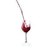 drink, glass, liquid, motion, splash, squirt, still life, wine, C41-1196628, AGEFOTOSTOCK