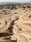 Namibia - The Moon Landscape east of Swakopmund Namib-Naukluft Park, Namibia