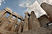 Parthenon in the Acropolis, Athens. Greece