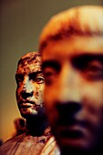 man head, National Archaeological Museum of Athens, Athens, Greece