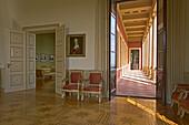 Interior of Villa Ludwigshöhe near Edenkoben, Deutsche Weinstraße, Palatinate, Rhineland-Palatinate, Germany, Europe