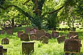 Jewish cemetery Holy Sand, Worms, Rhineland-Palatinate, Germany