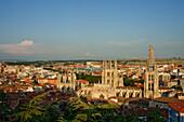 Burgos cathedral, Gothic, Camino Frances, Way of St. James, Camino de Santiago, pilgrims way, UNESCO World Heritage Site, European Cultural Route, province of Burgos, Old Castile, Castile-Leon, Castilla y Leon, Northern Spain, Spain, Europe