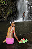 Trinity Falls, Saint Vincent, Karibik, Caribbean