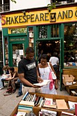 Shakespeare and Company Book Store, Quartier Latin, Paris, France