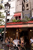 Le Petit Chatelet Bar Restaurant, Quartier Latin, Paris, France