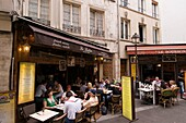 Bistrot in Rue Xavier Privas, Quartier Latin, Paris, France