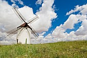 Agriculture, Antiquity, Architecture, Clean energy, Color, Energy, Environment, Europe, Horizontal, La mancha province, Production, Spain, Tourism, K08-1031895, agefotostock