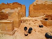 Ptolomaic columns, Taposiris magna, Alexandria, Egypt