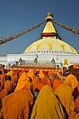 Bodnath Stupa Kathmandu, Nepal