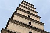 Giant Wild Goose Pagoda (Dayan Ta), Xi'an, Shaanxi province, China