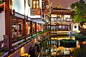 Yu Garden, old town of Shanghai, China