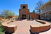 San Miguel Mission Church Santa Fe New Mexico