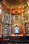 Interior of Mission San Xavier del Bac Tucson Arizona