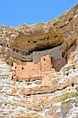 Cliff Dwellings of Sinagua Indians Montezuma Castle National Monument Arizona