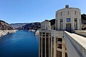 Lake Mead at the Hoover Dam Arizona Nevada
