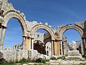Pillar of Saint Simeon Stylites, Qalaat Seman near Aleppo, Syria