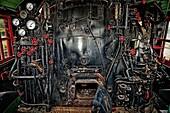 Iron horse, Locomotive, Machine, Power, Steam, Texas state railroad, Train, Transportation, Usa, Valve, S19-1065196, agefotostock