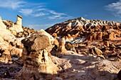 Arizona, Delicate, Desert, Hoodoo, Landscape, Nature, Page, Rim rocks, Rock, Sandstone, Scenic, Sky, Southwest, United states of america, S19-1107330, agefotostock