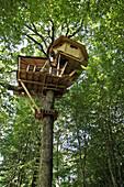 Treehouses In The Landry Woods, Domaine Du Bois Landry, Champrond-En-Gatine, Perche, Eure-Et-Loir (28), France