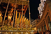 Immaculate Saint Mary, Mother Of The Church, Procession Of The Christ Of Faith And Pardon, Holy Week For The Easter Holidays, (The Passion Of Christ), Madrid, Spain