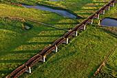Doemitz Railway Bridge, Lower Saxony, Germany