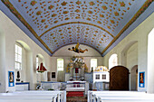 Church in Kloster, isle of Hiddensee, Mecklenburg-Western Pomerania, Germany, Europe