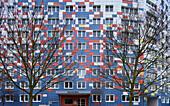 Panel flat in Landsberger Allee, Berlin, Germany, Europe