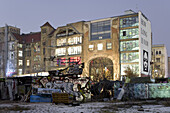 Art and culture centre Tacheles in the evening, Oranienburger street, Berlin, Germany, Europe