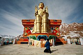 Abenteuer, Buddha, Buddhismus, Chadar, Chaddar, Entdeckungsreise, Indien, Jammu und Kaschmir, Kälte, Ladakh, Tours, Treck, Winter, Zanskar, T91-1212650, AGEFOTOSTOCK