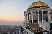 Bangkok (Thailand): view of the city from the rooftop of the State Tower