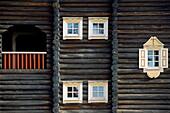 Finland, Karelia, Nurmes, Bomban Talo, Traditional Karelian house
