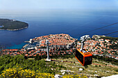 New Cable Car, Old Town, Dubrovnik, Dubrovnik Neretva county, Dalmatia, Croatia